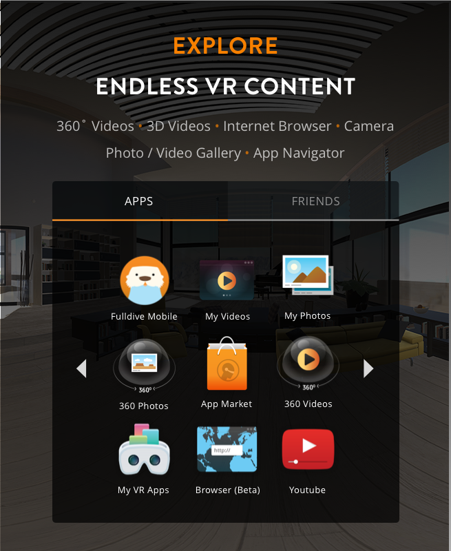 virtual reality applications for android