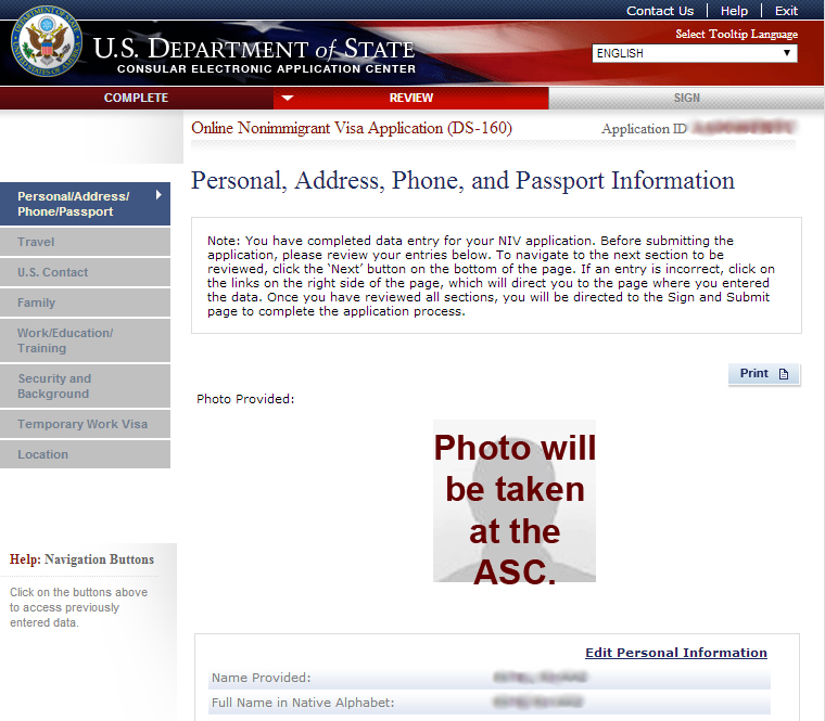 how to pay for us visa application online