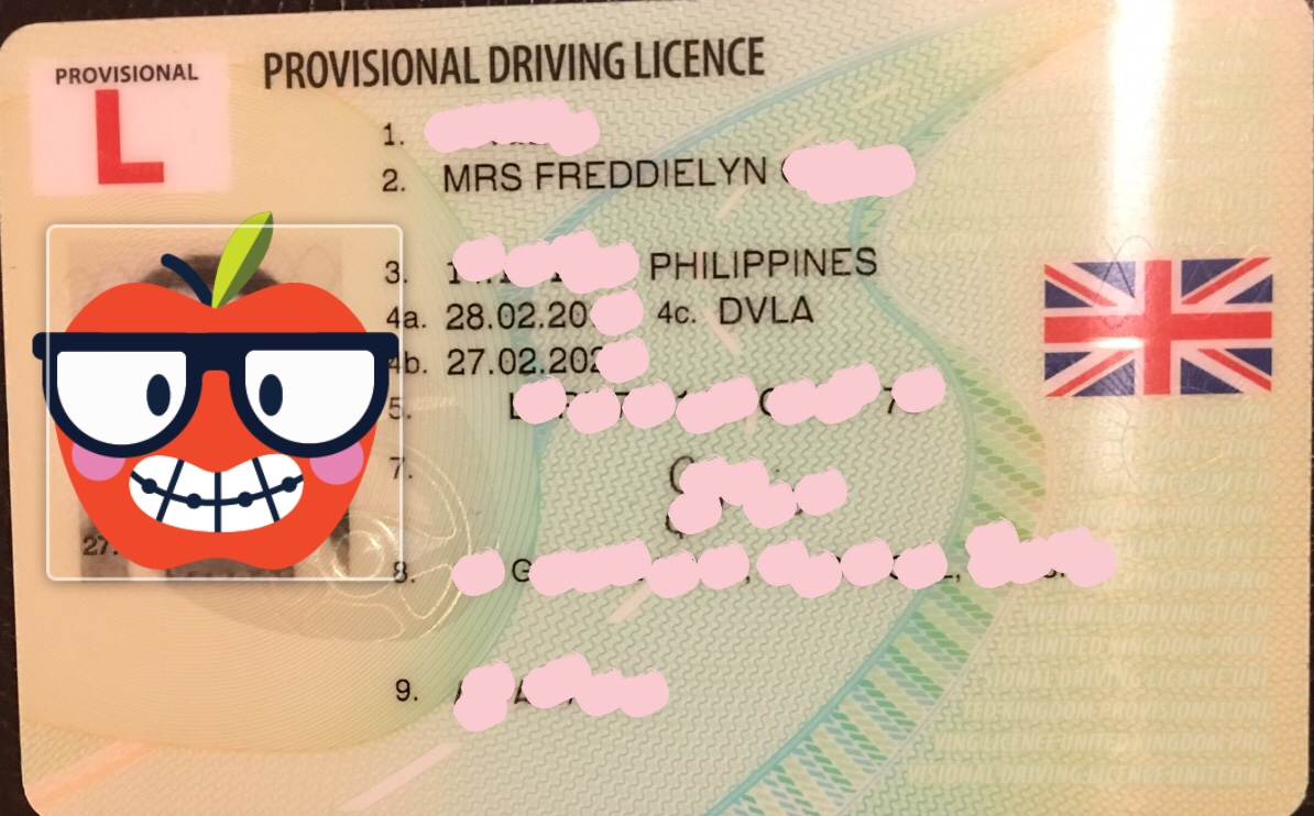application for provisional driving licence uk