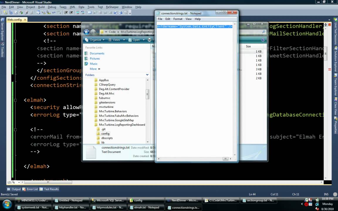 how to create dashboard in asp net application