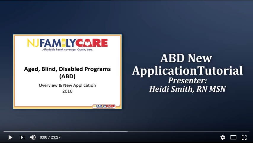 nj family care application processing time