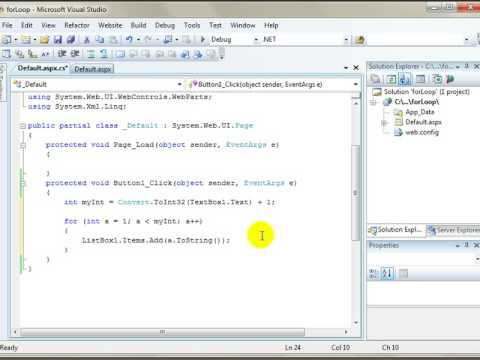 visual basic console application example