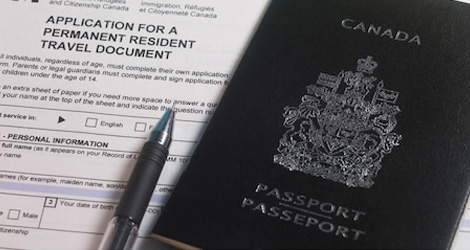 permanent resident application fee canada