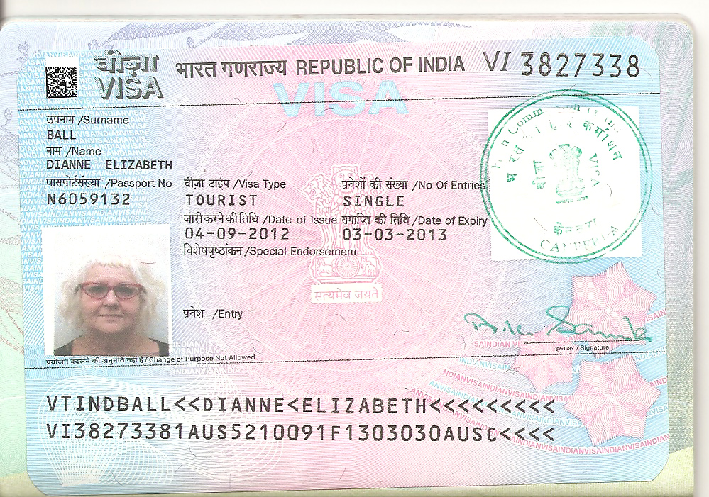www indian visa application from