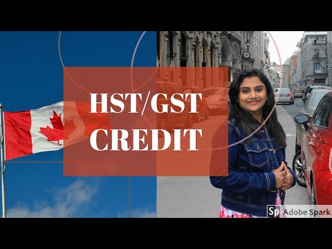 gst hst credit application for new immigrants