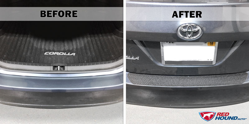 how to install rear bumper applique
