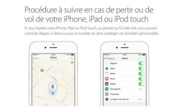 localiser iphone perdu sans application