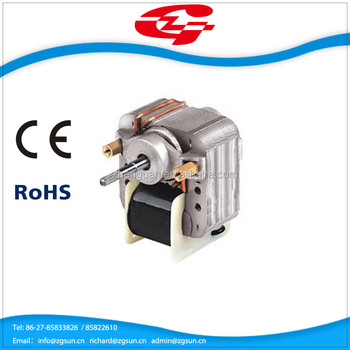 application of shaded pole motor