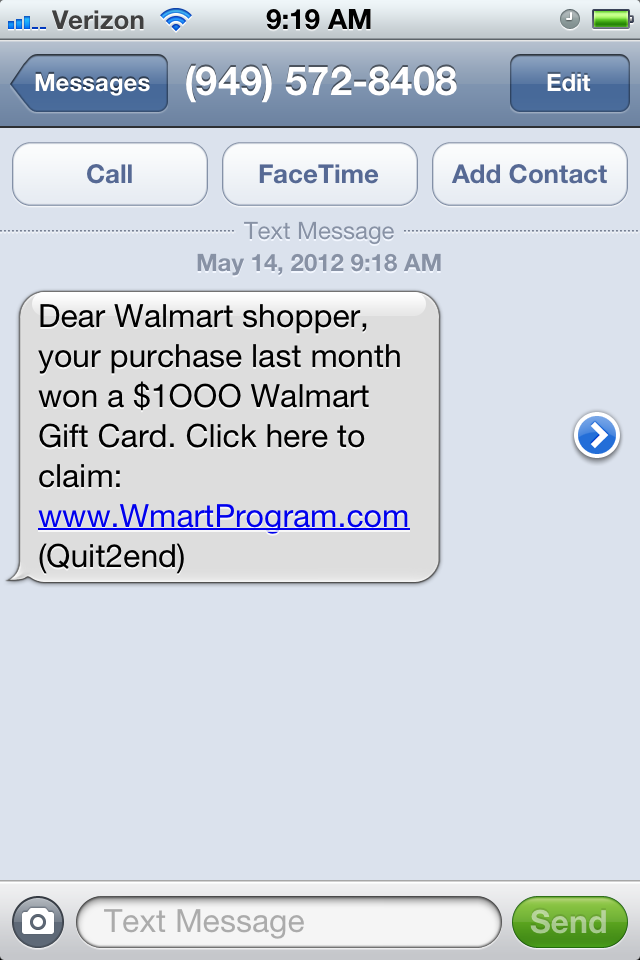 walmart credit card application denied
