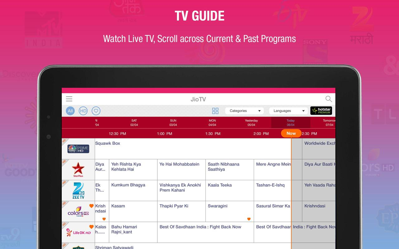 live tv channels application free download