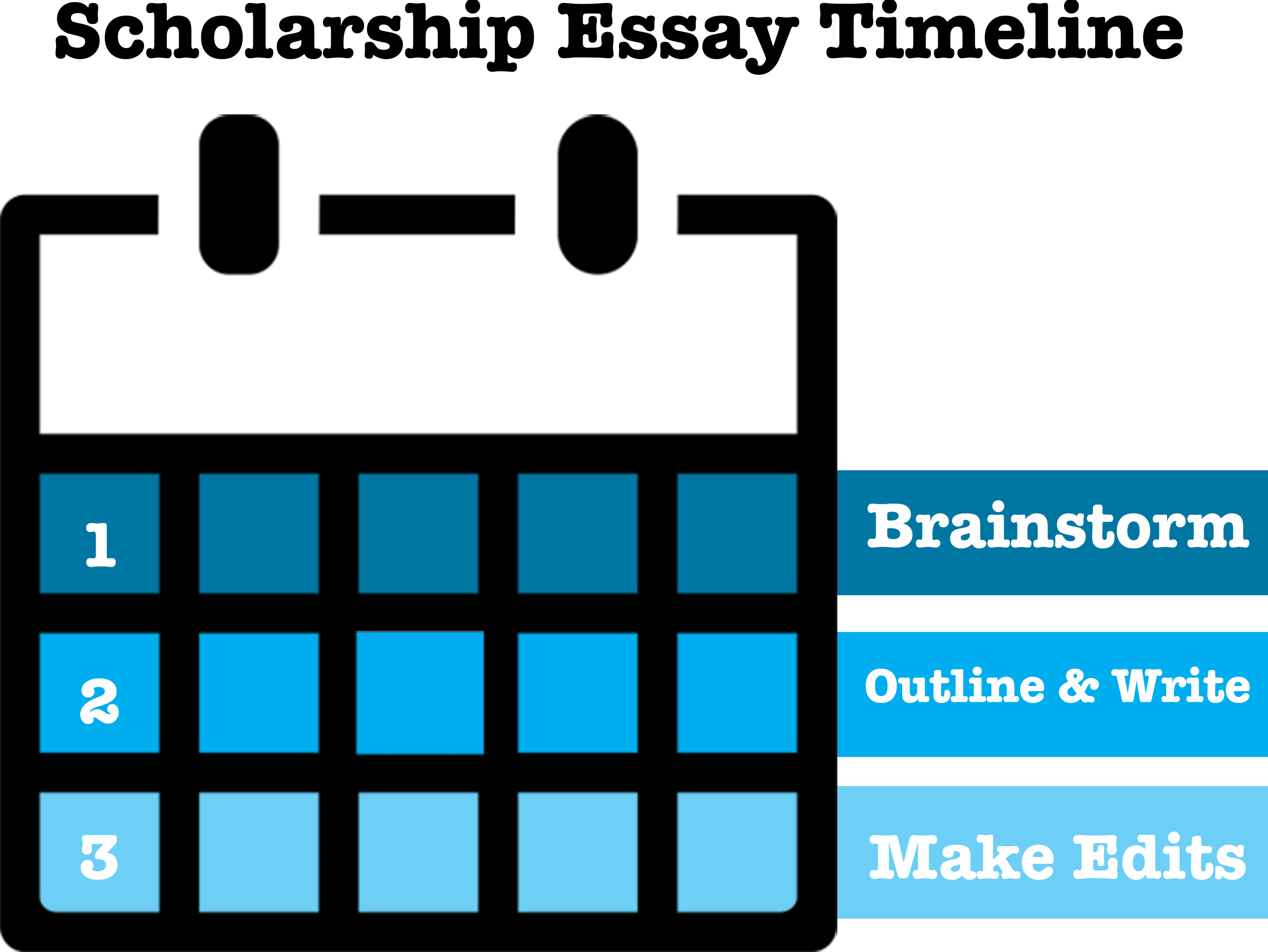 how to write a scholarship application essay