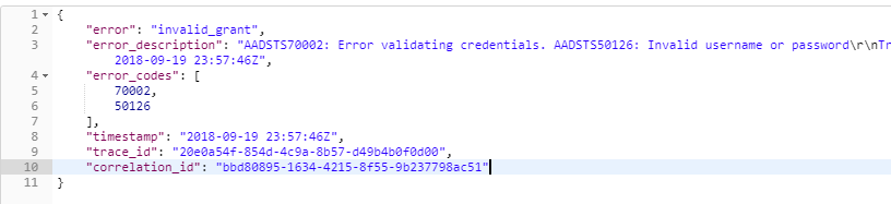 what does credentials mean on an application